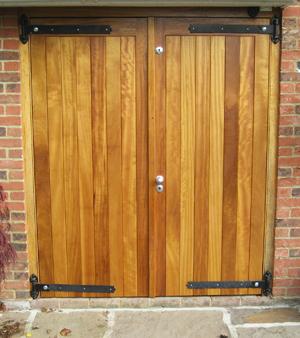 Garage Door - Framed, Ledged & Braced